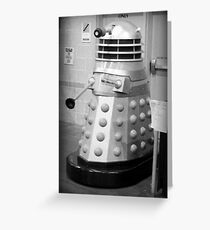 Old Fashioned Dalek Greeting Card