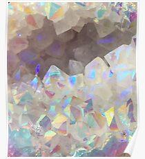 Iridescent Aura Crystals Poster