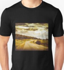 Window to a rural road Unisex T-Shirt