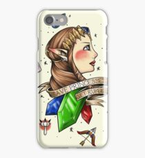 Save Princesses, Get Rupees iPhone Case/Skin