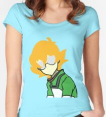Pidge Silhouette Women's Fitted Scoop T-Shirt