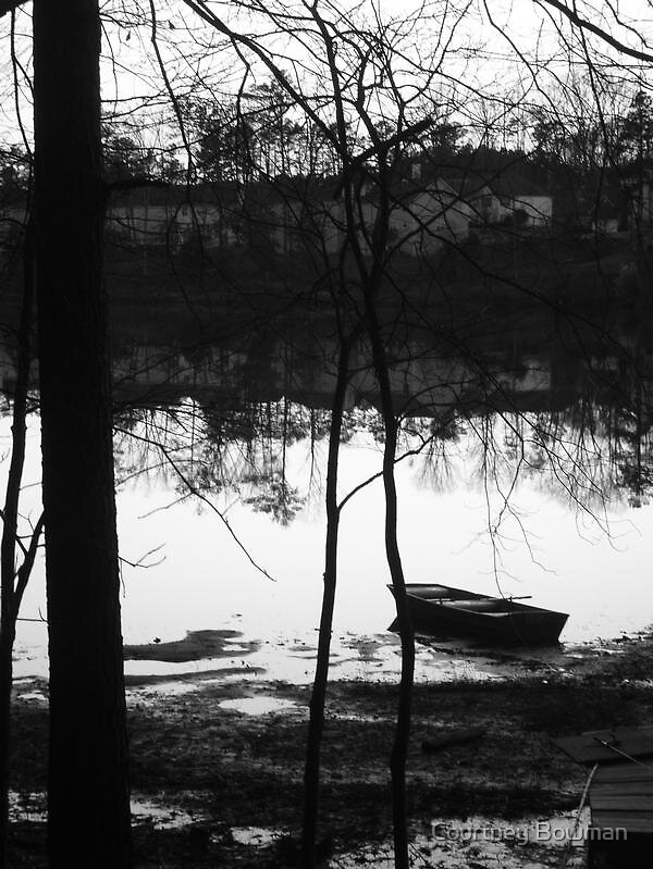 A Natural State b/w by Courtney Bowman
