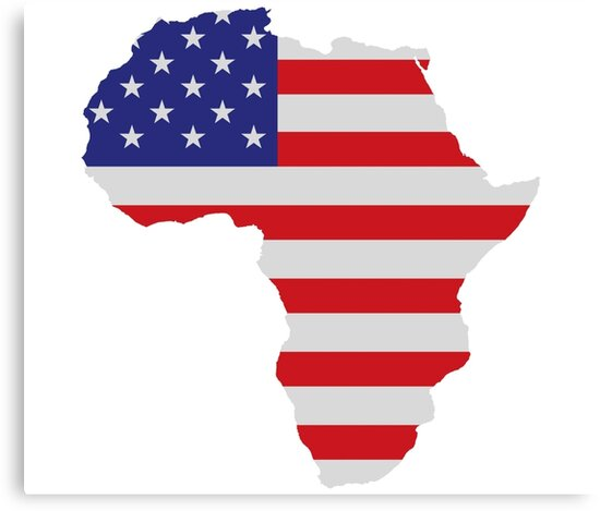 Image result for USA flag in Africa