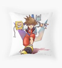 Keyblade Master Throw Pillow