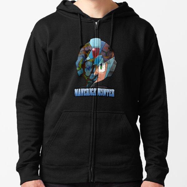 Mega Man - Maverick Hunter X Zipped Hoodie