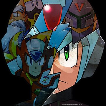 Mega Man - Maverick Hunter X by stevenchase