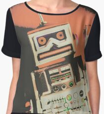 Android short circuit Women's Chiffon Top