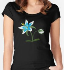Breath of The Wild - Flower Women's Fitted Scoop T-Shirt
