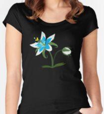 Camiseta entallada de cuello redondo Aliento de lo salvaje - Flor