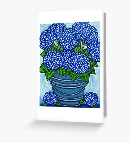 Country Blues Greeting Card