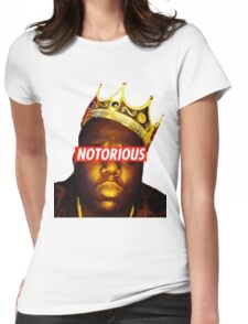 NOTORIOUS BIG Womens Fitted T-Shirt