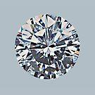 Diamond (on silver) by BadBehaviour