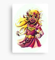 Princess Zelda Canvas Print