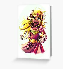 Princess Zelda Greeting Card