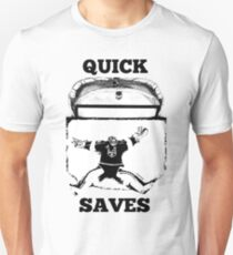 Quick Saves - Opt. 1 Unisex T-Shirt