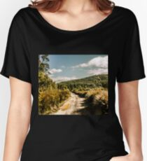Rural paths out yonder Women's Relaxed Fit T-Shirt