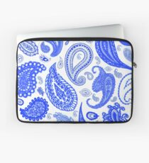Paisley Blue by Julie Everhart Laptop Sleeve