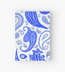 Paisley Blue by Julie Everhart Hardcover Journal