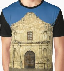 Travel Sky Landscape Blue Wall Tapestry - EMPTY ALAMO - tapestries Graphic T-Shirt