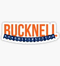 Bucknell University - Style 23 Sticker