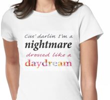 """Taylor Swift """"Blank Space"""" Lyrics Graphic  Womens Fitted T-Shirt"""