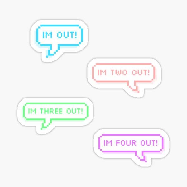 GOT7 | IM OUT! ver.2 Sticker