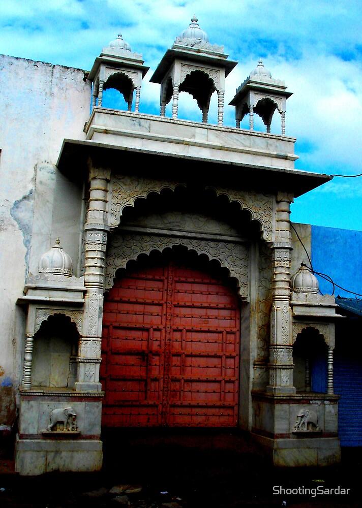 The Door @ Pushkar by ShootingSardar