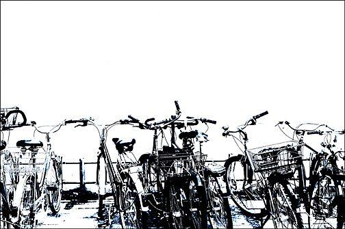 Bicycles by Joseph  Koprek