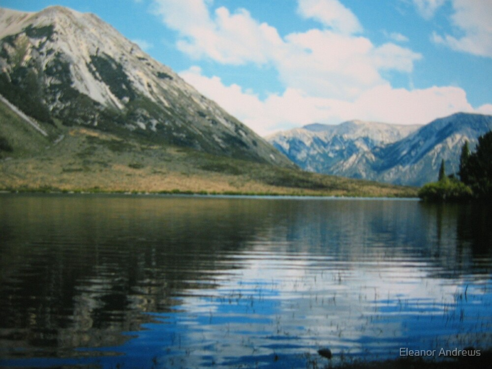 THE LAKE-NEW ZEALAND (MARK 2) by Eleanor Andrews