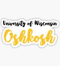 University of Wisconsin Oshkosh Sticker