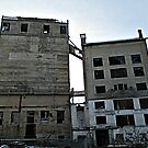 The Abandoned and Imposing Wheatsworth Mill Buildings by Jane Neill-Hancock