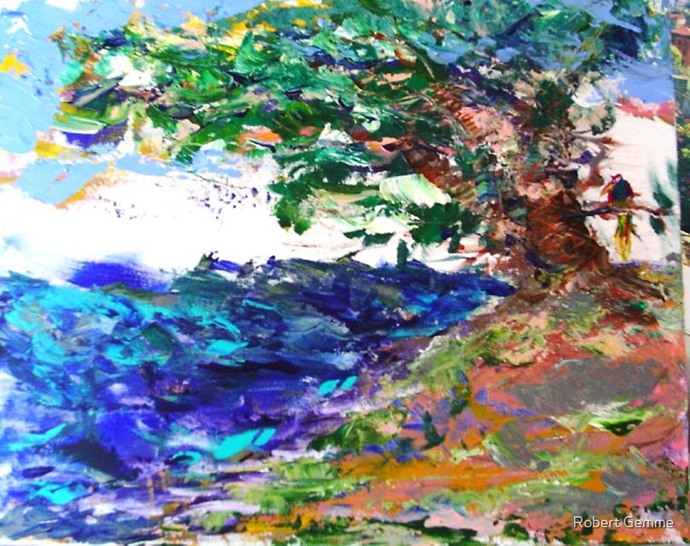 Movement with Still Bird by Robert Gemme