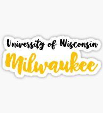 University of Wisconsin Milwaukee Sticker