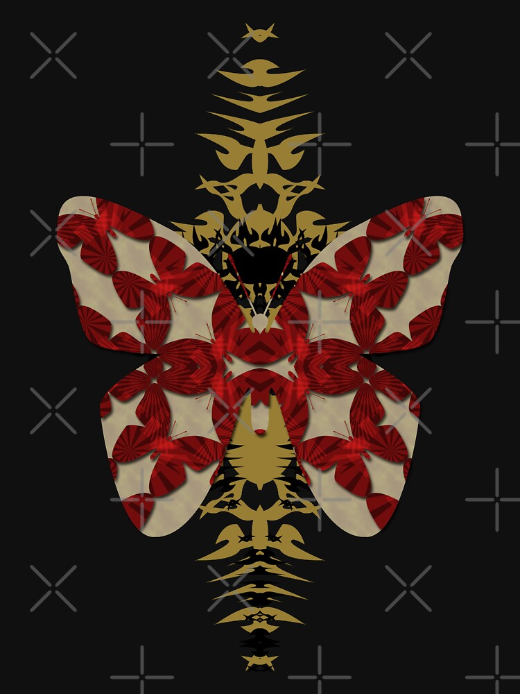 tribal butterfly by webgrrl