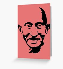 mahatma gandhi Greeting Card