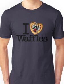 I Love (Heart) Waffles Unisex T-Shirt