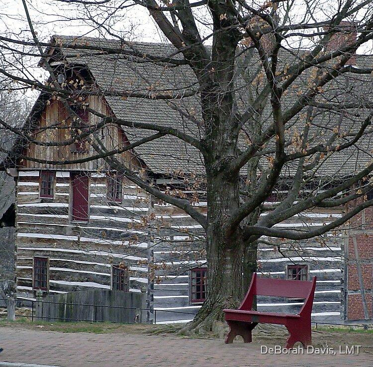 Log House by DeBorah Davis, LMT