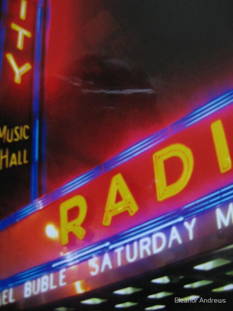 Radio City Music Hall by Eleanor Andrews