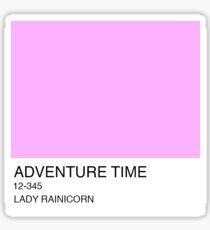 Lady Rainicorn Sticker