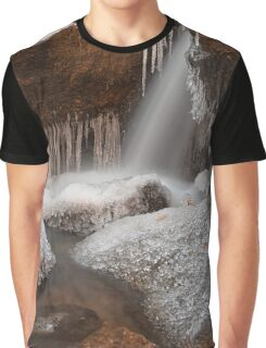 Stream of Frozen Hope Graphic T-Shirt