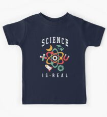 Science Is Real Kids Tee