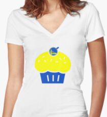 "GSW - KD Kevin Durant Cupcake ""Reverse Troll"" Shirt 3 Women's Fitted V-Neck T-Shirt"