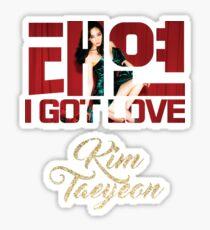 SNSD TAEYEON I Got Love Sticker