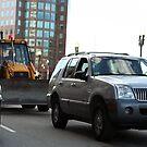 Bulldozing Cars by DaveCool