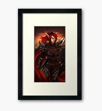 Blood Elf Framed Print