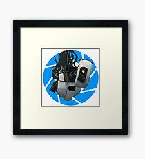 Portal GLaDOS Framed Print
