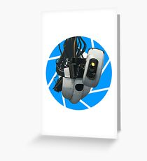 Portal GLaDOS Greeting Card