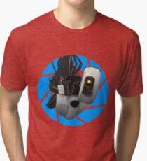 Portal GLaDOS Tri-blend T-Shirt