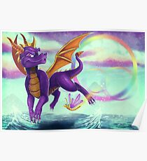 Spyro the Dragon  Poster