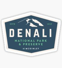 Denali Sticker